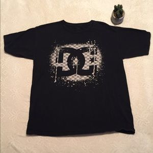 DC T-shirt with logo in front.